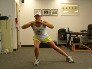 Lisa Side Slide Lunge